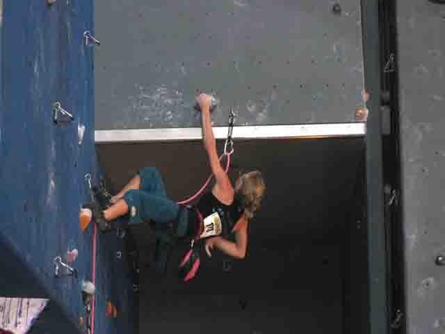 Manon en finale des Championnats de France minime  2009