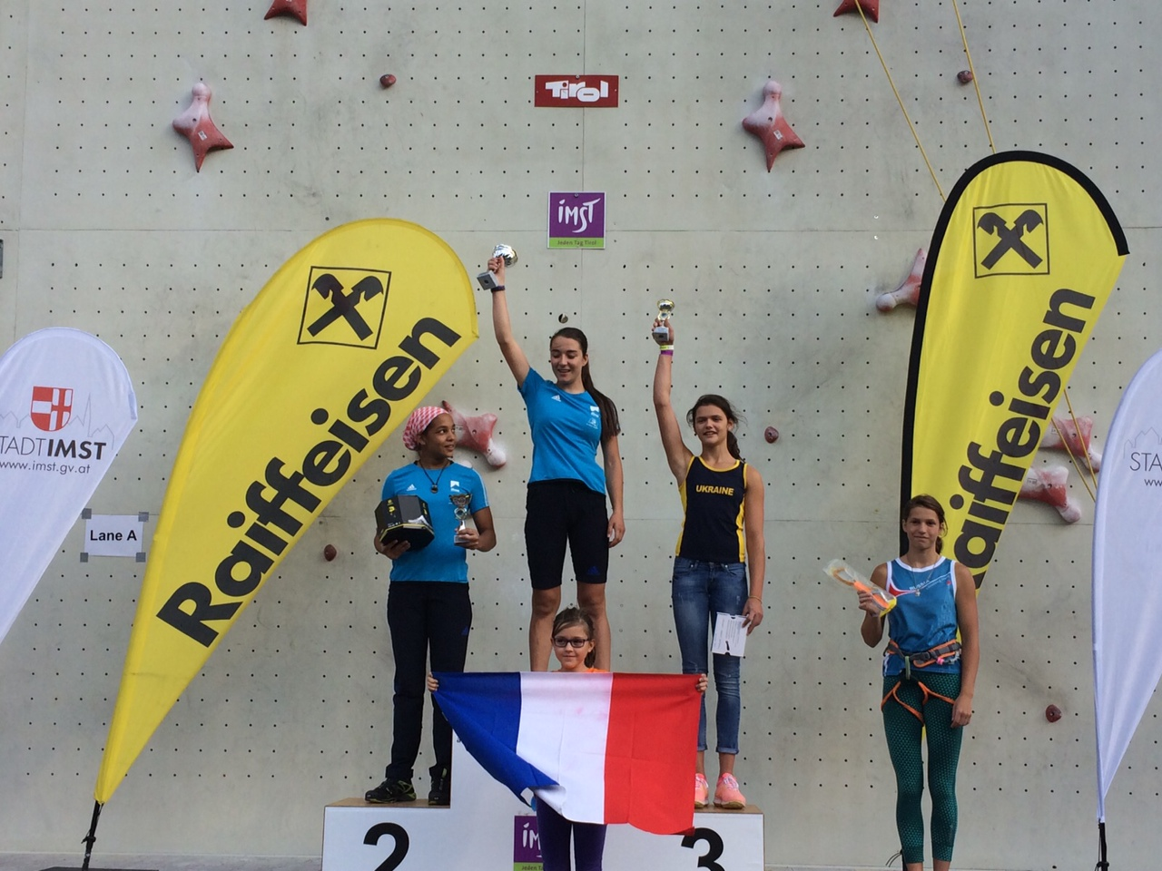 podium-filles - fanny techer